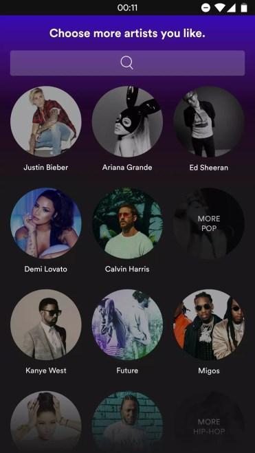 Spotify-novedades-interfaz