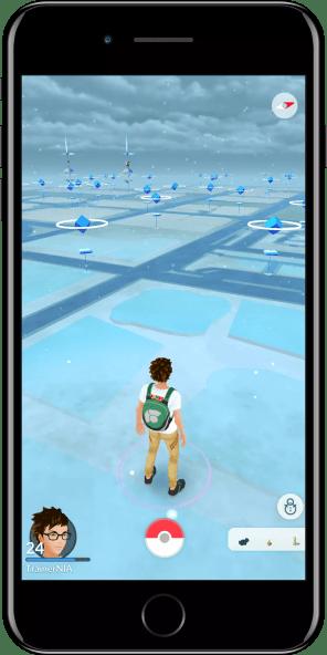 Nieve en Pokémon GO