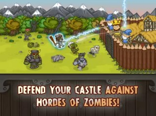 Juego Android King of Math Defense