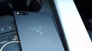 Trasera del teléfono Razer Phone