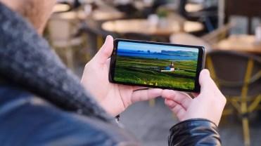 pantalla del Samsung Galaxy A8 2018
