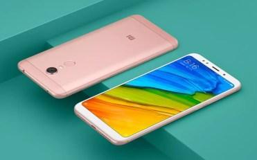 Rosa Xiaomi Redmi Note 5