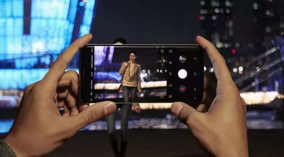 Cámara del Samsung Galaxy S9+