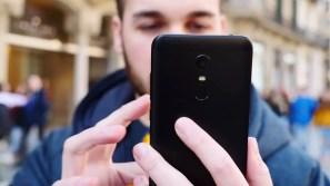 Trasera del teléfono Xiaomi Redmi 5 Plus