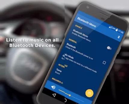 Aplicación Bluetooth Mono Media