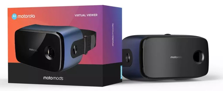 Futuras gafas de realidad virtual de Motorola