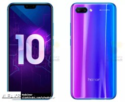 Honor 10 color lila