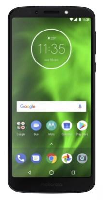 Imagen frontal Motorola Moto G6 Play