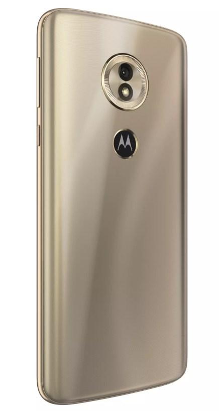 Diseño del Motorola Moto G6 Play
