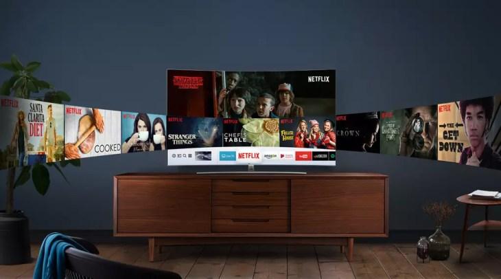 Televisor Smart TV de Smasung