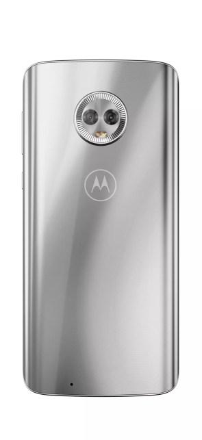 Imagen trasera del Motorola Moto G6