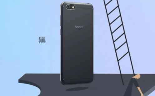 teléfono Honor Play 7 de color negro