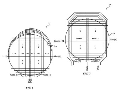 Patente pantalla Apple
