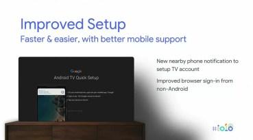 Novedades Android TV en el Chromecast con Android TV