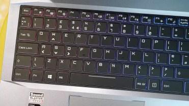 teclado del Thunderobot ST Plus