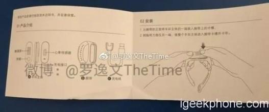 Manual de la pulsera Xiaomi MI Band 3