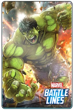 Carta de Hulk en MARVEL Battle Lines