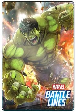Carta de Hulk en MARVEL Battle Lines