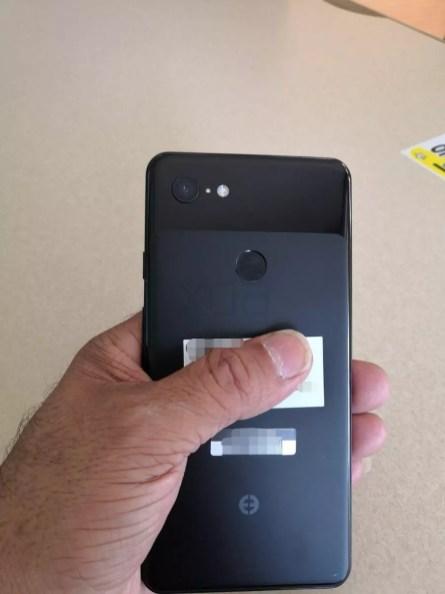 Lector de huellas del Google Pixel 3 XL
