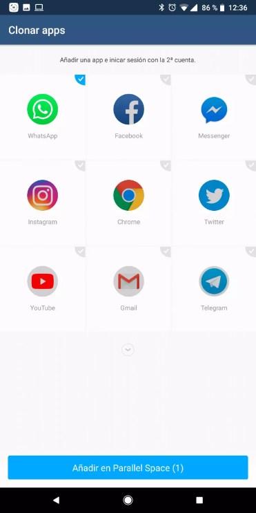 Clonar dos copias de la misma aplicación en Android