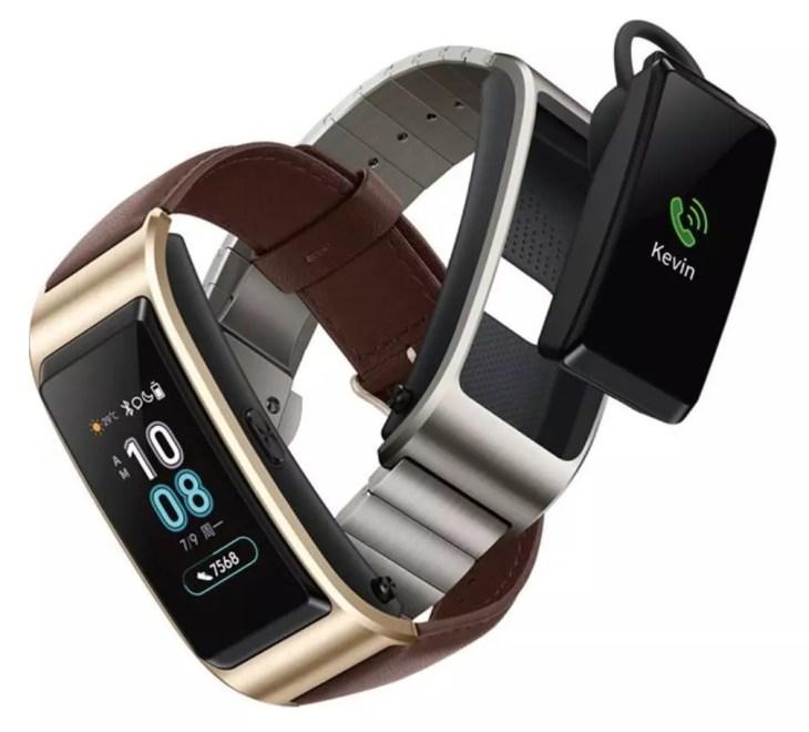 Diseño de la pulsera Huawei TalkBand B5
