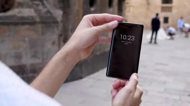 Imagen frontal del Nokia 8 Sirocco