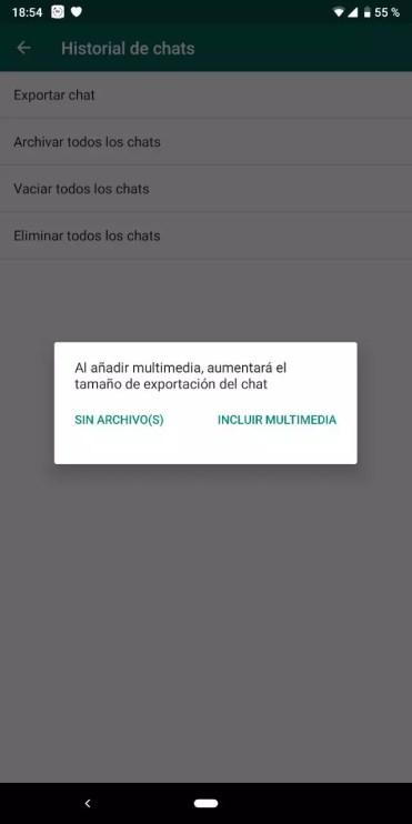 Multimedia WhatsApp