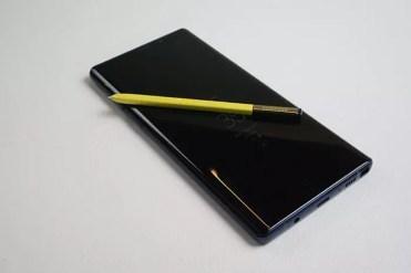 Frontal Samsung Galaxy Note9