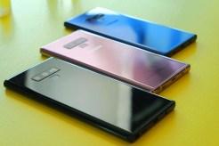 Aspecto del Samsung Galaxy Note9