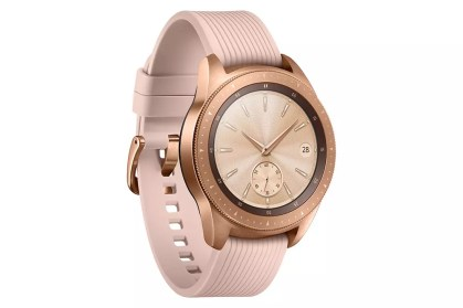 Samsung Galaxy Watch rosa aspecto