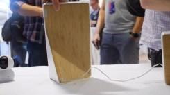 Acabado trasero de la pantalla Lenovo Smart Diplay