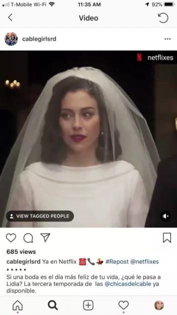 Aigos etiquetados en vídeos de Instagram