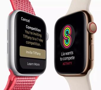 Aspcto comparado Apple Watch Series 4