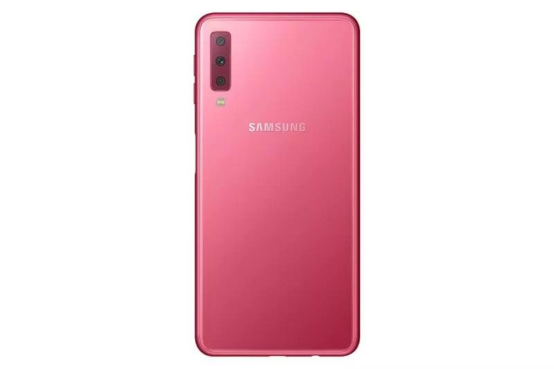 El nuevo Samsung Galaxy A7 se estrena con la triple cámara