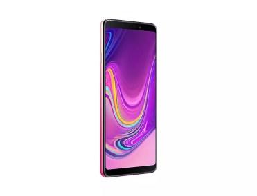 Samsung Galaxy A9 girado aspecto