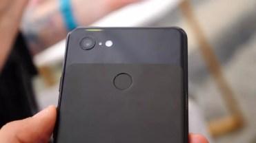 Trasera del Google Pixel 3