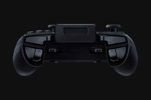Gatillos integrados en el mando Razer Raiju Mobile