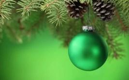 Fondo de pantalla con motivo e Navidad