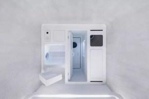 Elementos interiores de la casa de Xiaomi para Marte