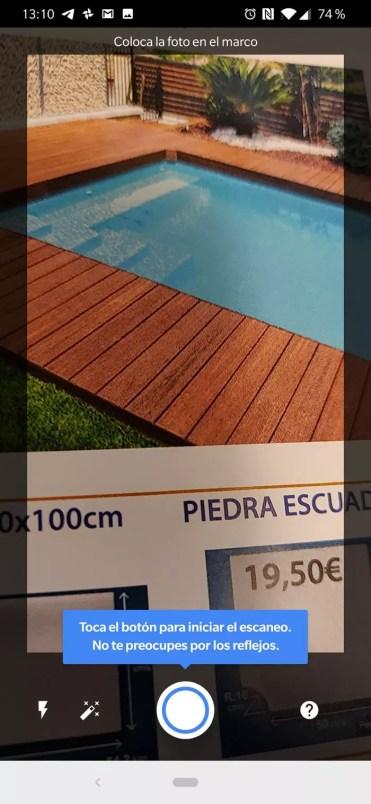 Uso inicial de FotoScan en Google Fotos