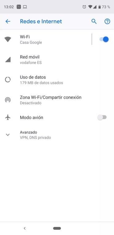 Compartir WiFi teléfono en Android para Chromecast