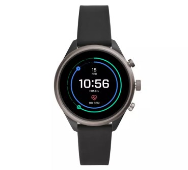Fossil Sport Smartwatch de color negro