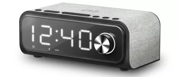 Imagen frontal de Clock Speaker 4 Wireless Charge