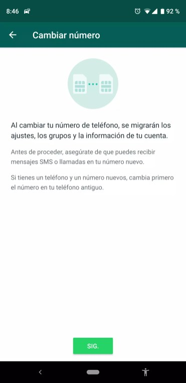 Copia seguridad WhatsApp