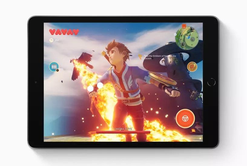 Así es la nueva iPad de séptima generación