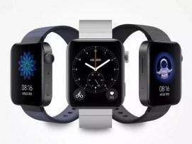 Imagen frontal del smartwatch Xiaomi Mi Watch