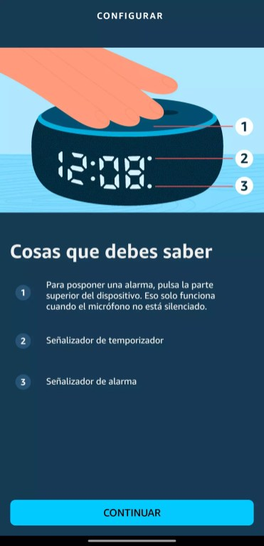 Opciones uso Amazon Echo Dot