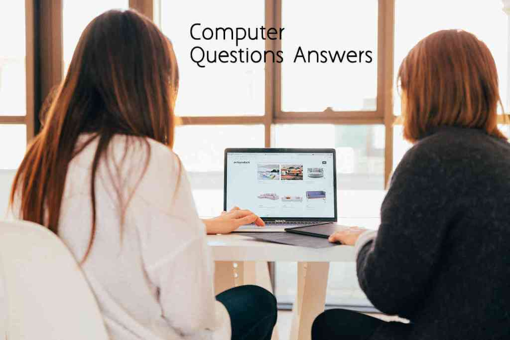 Computer Questions Answers - Basic Computer Knowledge