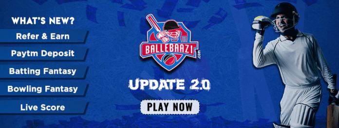 BalleBaazi Fantasy Cricket,