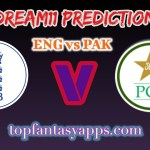 ENG vs PAK Dream11 Team Prediction Today's T20 Match, 100% Winning
